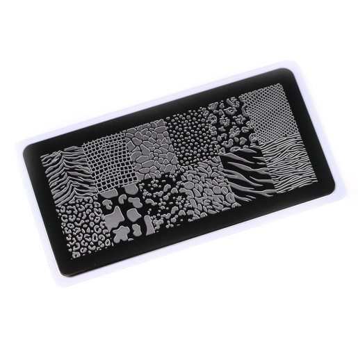 Nail Stamping Plate.Echo:You Wanna Be On Top#1